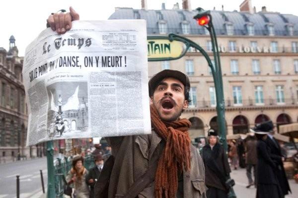 Pierre Khorsand in un'immagine tratta dal film Adele e l'enigma del faraone