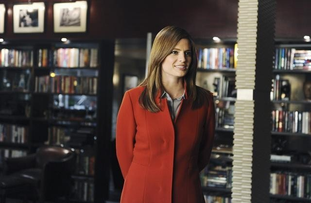 Stana Katic in una scena dell'episodio Punked di Castle