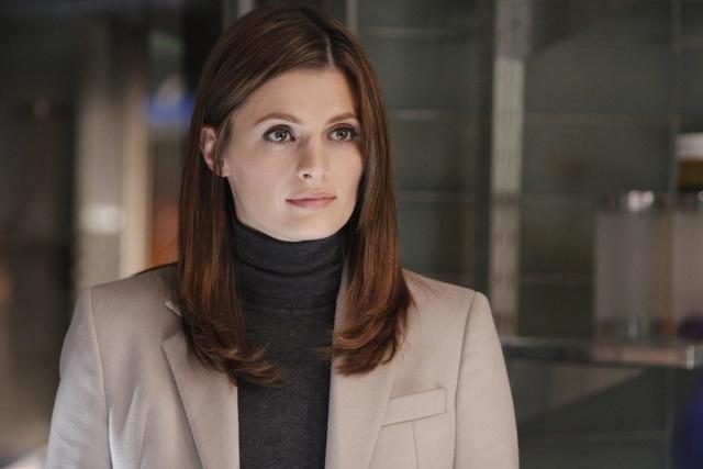 Stana Katic nell'episodio Punked di Castle