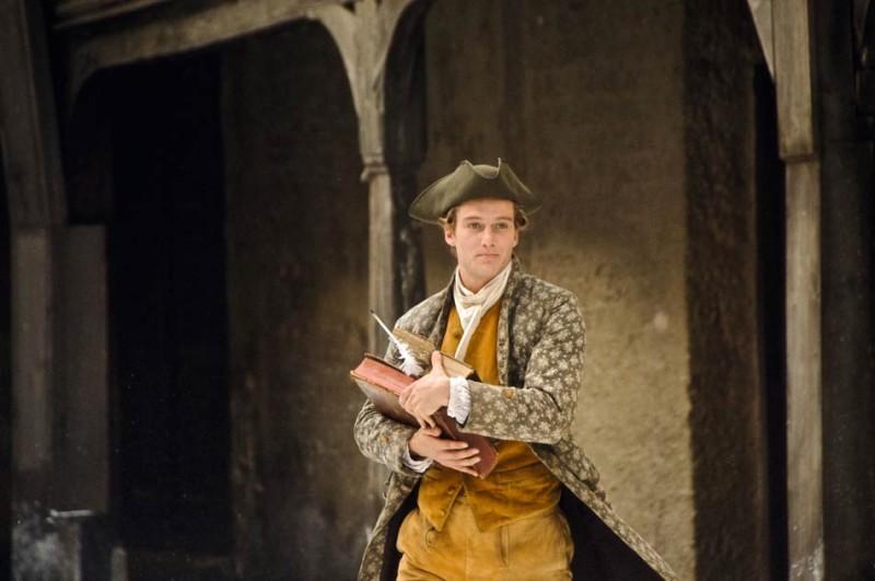 Alexander Fehling, protagonista del biopic Goethe!