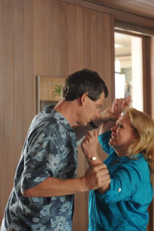 Jacki Weaver in una sequenza drammatica del film Animal Kingdom