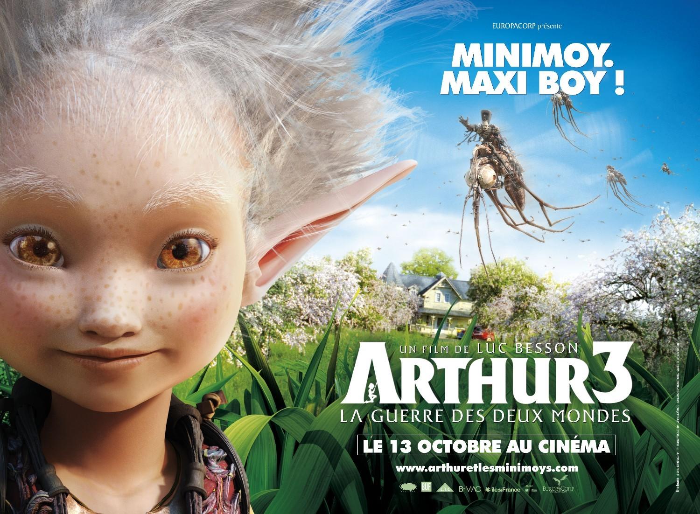 Il poster di Arthur et la guerre des deux mondes