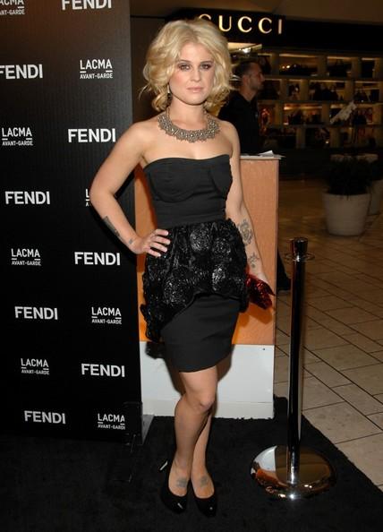 Kelly Osbourne in occasione dell'apertura di una boutique Fendi a Los Angeles