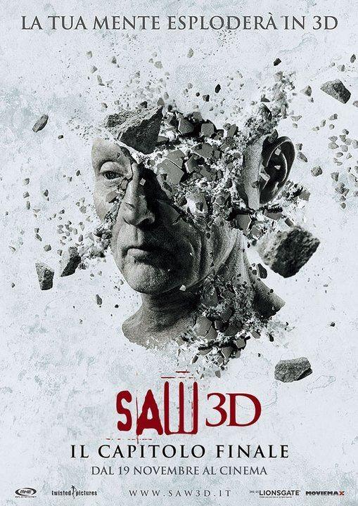 La locandina italiana di Saw 3D