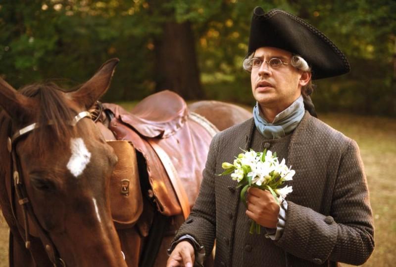 Moritz Bleibtreu in una scena del film Goethe!