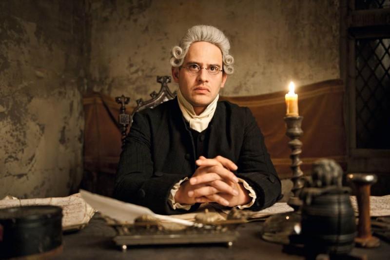 Moritz Bleibtreu nel film Goethe!
