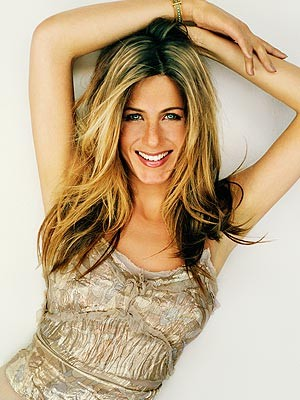 Una foto dell'attrice Jennifer Aniston
