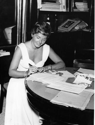 Carla Del Poggio negli anni '50