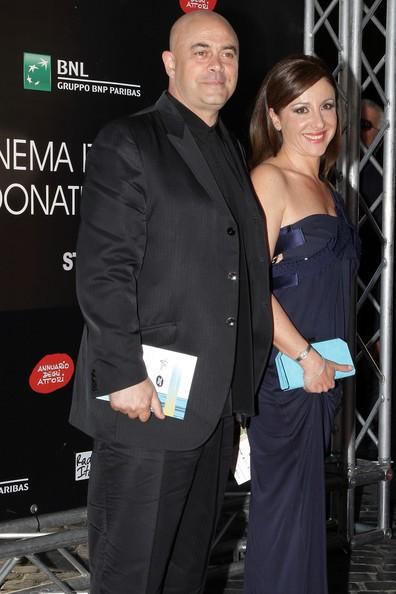 Carla Signoris e Maurizio Crozza sul red carpet del David di Donatello 2009