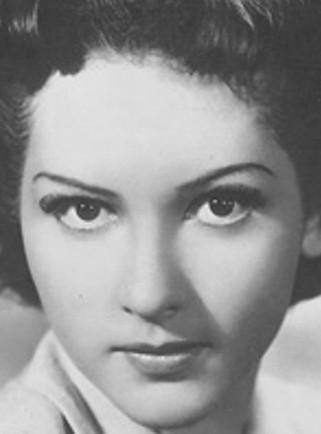 l'attrice Carla Del Poggio