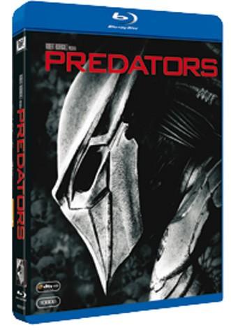 La copertina di Predators (blu-ray)