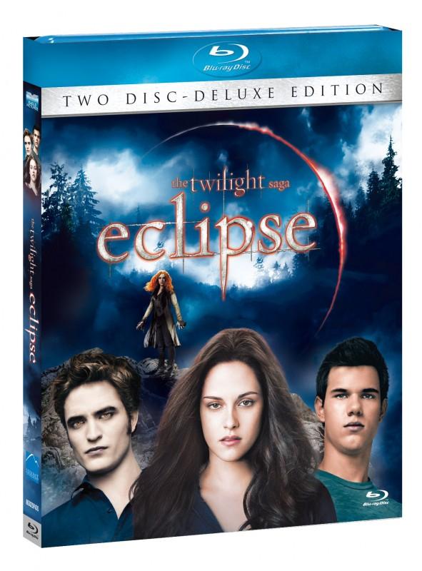La copertina di The Twilight Saga: Eclipse - Deluxe Edition (blu-ray)