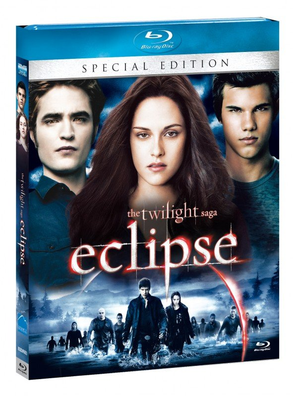 La copertina di The Twilight Saga: Eclipse - Special Edition (blu-ray)