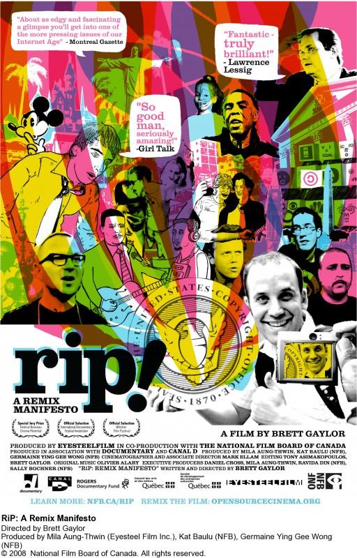 La locandina di RiP: A Remix Manifesto
