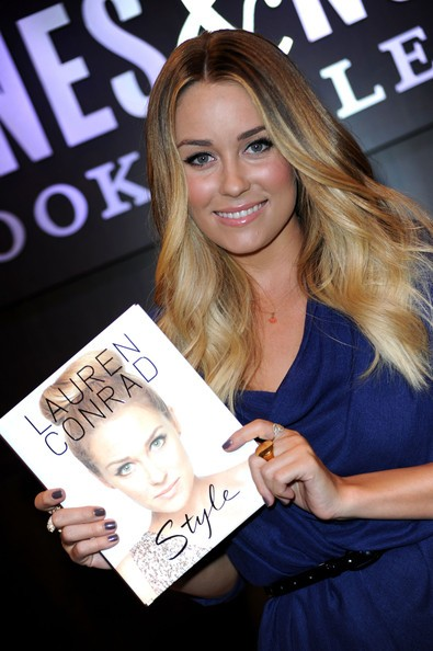 Lauren Conrad presenta il suo libro nella libreria Barnes & Noble a Los Angeles