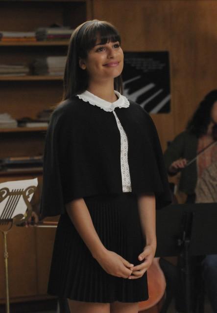 Lea Michele nell'episodio Duets di Glee