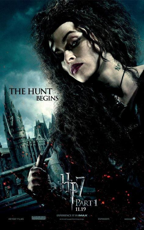 Nuovo Character Poster (Bellatrix) per il film Harry Potter e i doni della morte - Parte 1