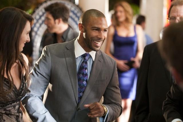 Omari Hardwick nell'episodio High Rollers di Dark Blue