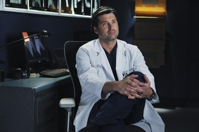 Patrick Dempsey in Grey's Anatomy nell'episodio These Arms of Mine