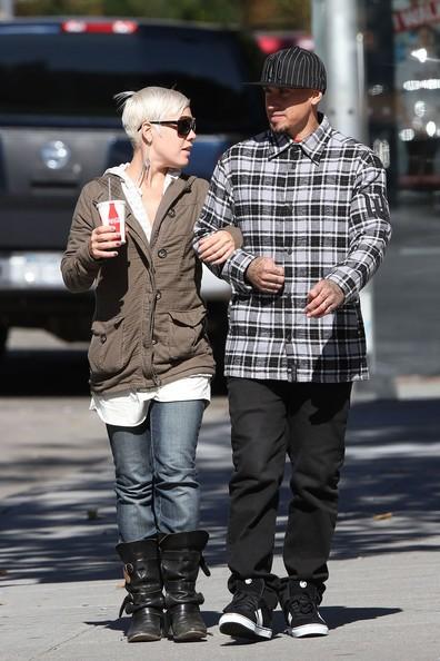 Pink e il marito Carey Hart fanno un po' di shopping a New York