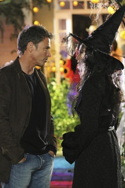 Tim Daly and Amy Brennaman in Private Practice nell'episodio All in the Family