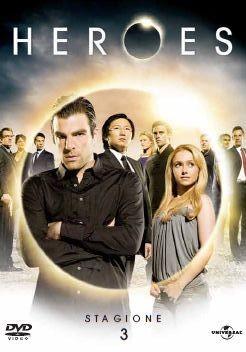 La copertina di Heroes - Stagione 3 (dvd)