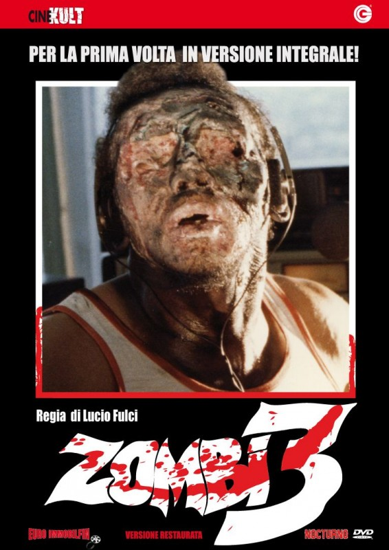 La copertina di Zombi 3 (dvd)