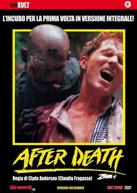La copertina di Zombi 4 - After Death (dvd)