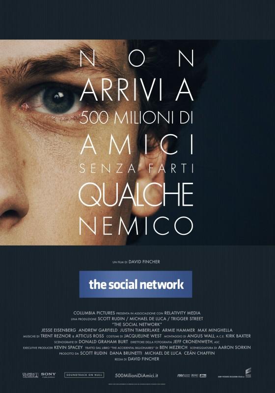 Nuova locandina italiana per The Social Network