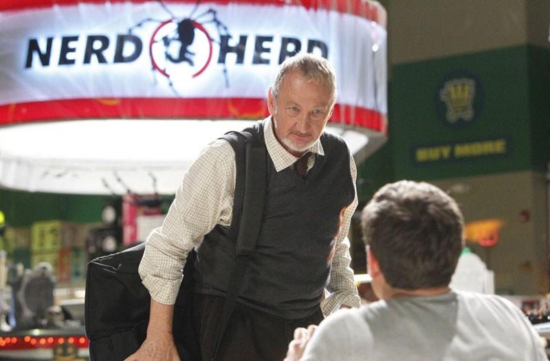 Dottor Stanley Wheelwright (Robert Englund) nell'episodio Chuck Vs. The Aisle of Terror