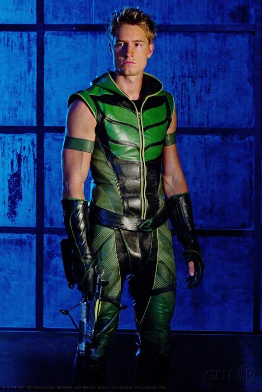 Freccia Verde (Justin Hartley) nell'episodio Isis di Smallville