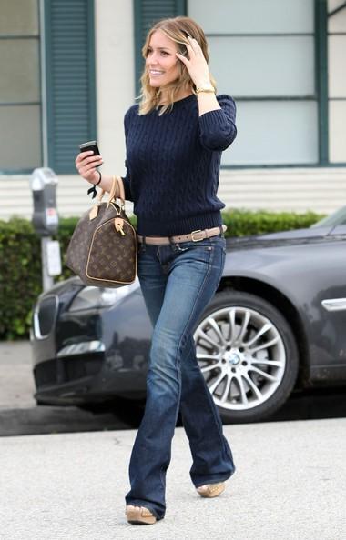 Kristin Cavallari mentre lascia il Neil George Salon a Beverly Hills