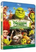 La copertina di Shrek e vissero felici e contenti (blu-ray)