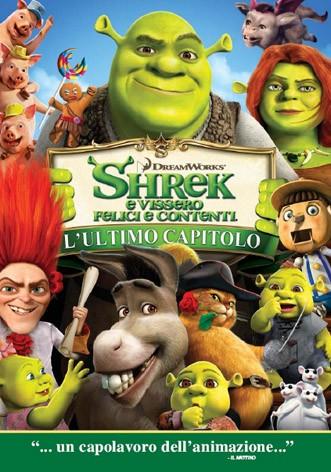 La copertina di Shrek e vissero felici e contenti (dvd)