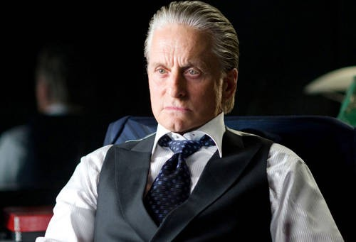 Michael Douglas, protagonista del film Wall Street 2: Money Never Sleeps