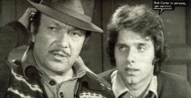 Nello Appodia e Franco Dani in un fotoromanzo Lancio Lucky Martin (n. 70.1974)