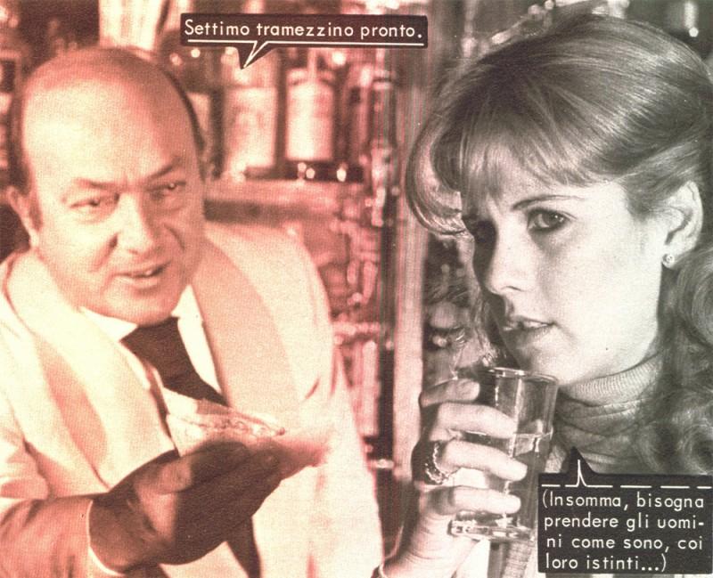 Nello Appodia e Katiuscia nel fotoromanzo LUKY MARTIN n. 89.1976