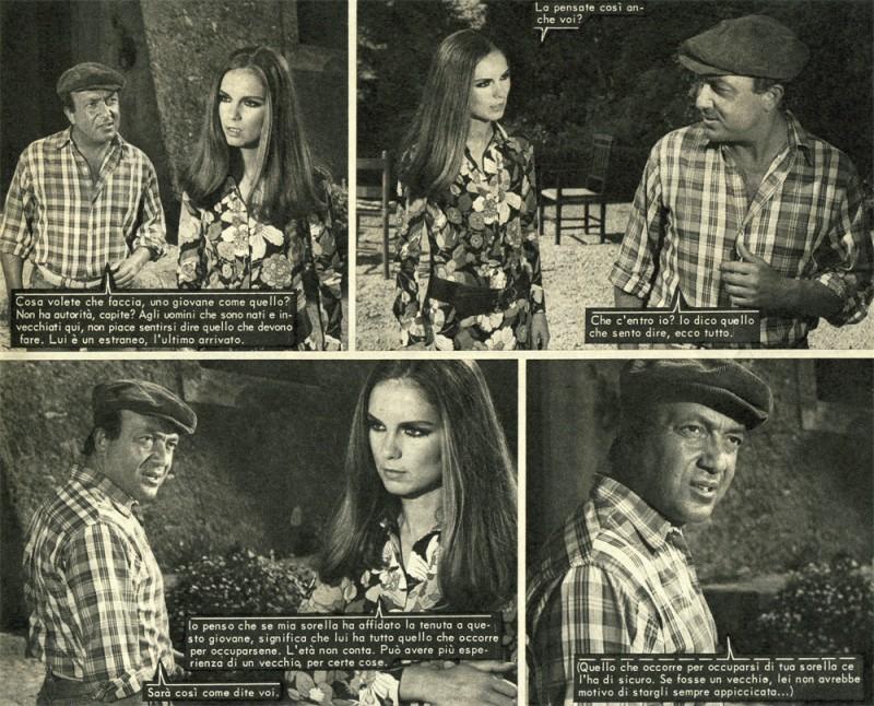 Nello Appodia e Paola Pitti nei fotoromanzi LANCIO MARINA n. 113.1971