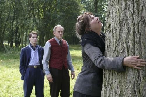 Nico Rogner, Ulrich Tukur e Yolande Moreau in una scena di Séraphine