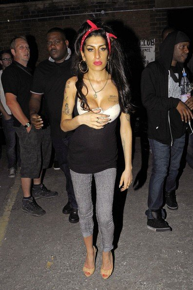 Amy Winehouse al concerto di Mark Ronson