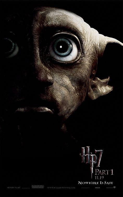 Character Poster (Dobby) per il film Harry Potter e i doni della morte - Parte 1