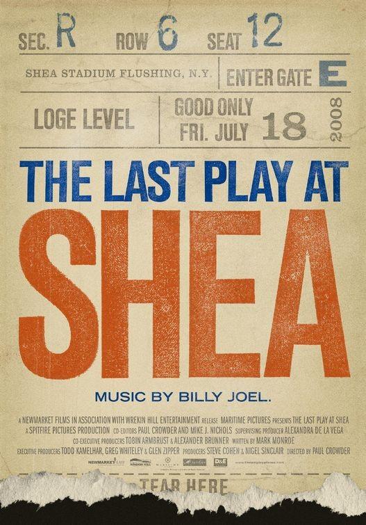 La locandina di The Last Play at Shea
