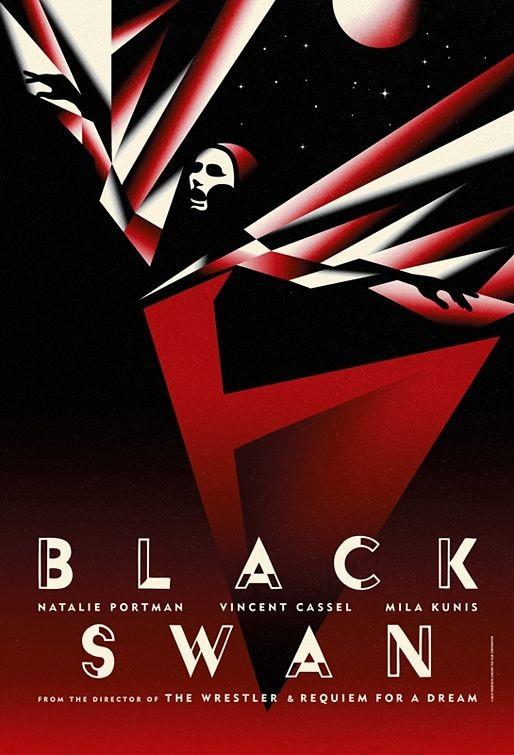 Limited Edition International Teaser Poster 1 per Black Swan