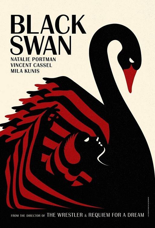 Limited Edition International Teaser Poster 3 per Black Swan