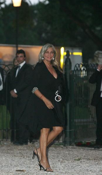 Mara Venier al matrimonio di Briatore, a Villa Borghese nel 2008