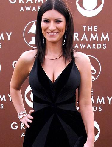 Una foto di Laura Pausini ai Grammy Awards