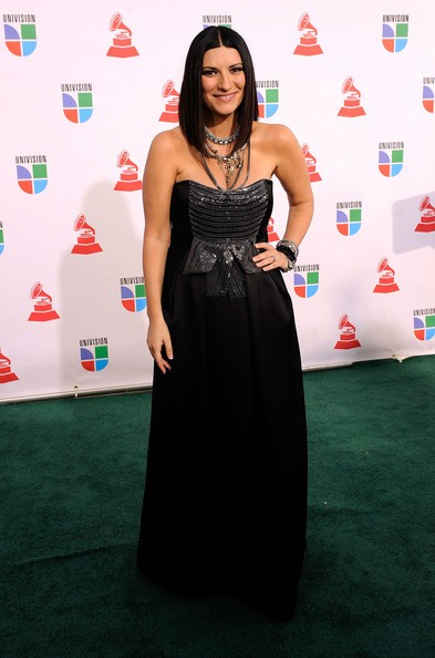 Una foto di Laura Pausini ai Latin Grammy Awards 2009