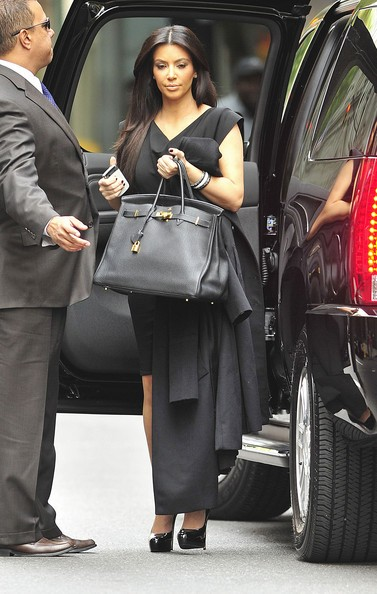 Kim Kardashian al ristorante Serafina nell'Upper East Side di New York