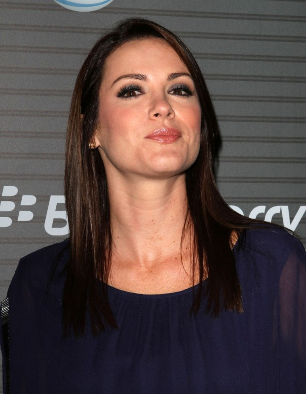 l\'attrice Danneel Harris ad un evento Blackberry