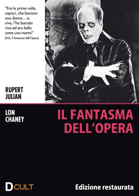 La copertina di Il fantasma dell'opera (dvd)